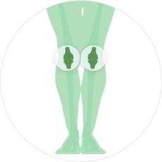 МРТ суставов -Коленный сустав с одной стороны