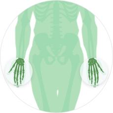МРТ суставов - кисть с одной стороны